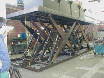 autolift met 4 scharen ook voor camper te gebruiken